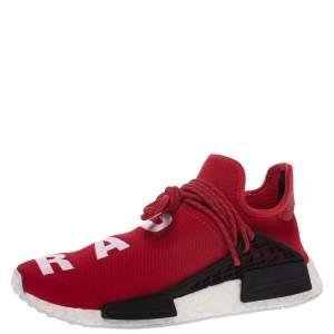 Pharrell x Adidas HU NMD Red Human Race Sneakers Size 42