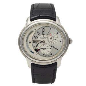 Audemars Piguet Millenary Dual-Time Maserati Limited Edition 900 Pieces Steel Men's Watch 42X45 MM