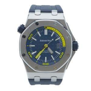 Audemars Piguet Royal Oak Offshore Diver Blue Dial Watch 42 MM
