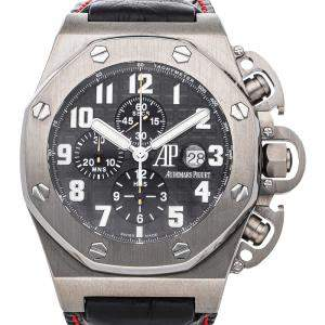 Audemars Piguet Black Titanium T3 Royal Oak Offshore Chronograph Limited Edition 25863TI.OO.A001CU.01 Men's Wristwatch 48 MM
