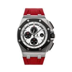 Audemars Piguet Silver Stainless Steel Royal Oak Offshore Chronograph 26400SO.OO.A002CA.01 Men's Wristwatch 44 MM