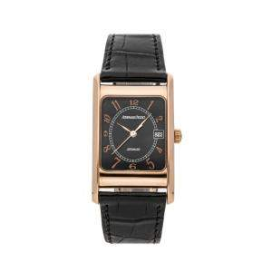 Audemars Piguet Black 18K Rose Gold Vintage Edward Piguet 15015OR/O/0001CR/02 Men's Wristwatch 27 x 45 MM