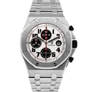 Audemars Piguet Silver Stainless Steel Royal Oak Offshore Chronograph 26170ST.OO.1000ST.01 Men's Wristwatch 42 MM