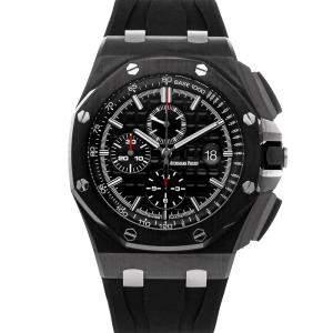 Audemars Piguet Black Ceramic Royal Oak Offshore Chronograph 26402CE.OO.A002CA.01 Men's Wristwatch 44 MM