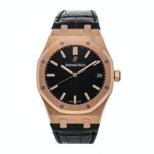 Audemars Piguet Black 18k Rose Gold Royal Oak 15500OR.OO.D002CR.01 Men's Wristwatch 41 MM