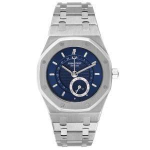 Audemars Piguet Blue Stainless Steel Royal Oak Annual Calendar 25920ST Men's Wristwatch 36 MM