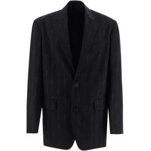Balenciaga Black Signature Oversized Blazer Size EU 49