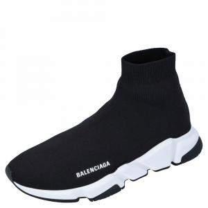 حذاء رياضي بالنسياغا سبيد تريكو أسود مقاس أوروبي 42