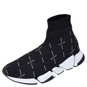 حذاء رياضي بالنسياغا سبيد 2.0 أسود بالشعار مقاس أوروبي 44