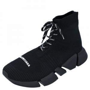 حذاء رياضي بالنسياغا سبيد 2.0 أسود برباط مقاس أوروبي 32