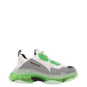 Balenciaga Multicolor Triple S Clear Sole Sneakers Size EU 45