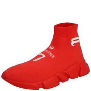 Balenciaga Men's Speed Sneaker Intense Red EU 43