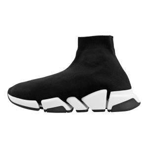 Balenciaga Black/White Speed 2.0 Sneakers EU 43