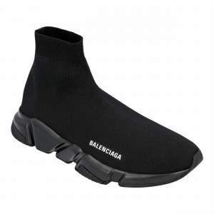Balenciaga Black Speed Recycled SneakersEU 43