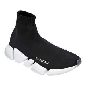 Balenciaga Black/White Speed 2.0 Sneakers EU 44