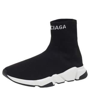 حذاء رياضي بالنسياغا سبيد ترينر تريكو مرن أسود مقاس 42