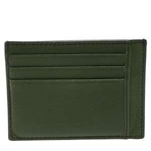 محفظة بطاقات بالي  جلد أفوكاتو أخضر