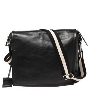 حقيبة كروس بالي ماسنجر جلد أسود