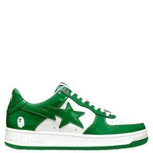 Bape Bapesta Green Sta Low Sneakers Size US 12 (EU 46)