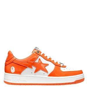 Bape Bapesta Orange Sta Low Sneakers Size US 9.5 (EU 43)