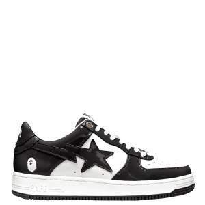 Bape Bapesta White Black Sta Low Sneakers Size US 9 (EU 42.5)