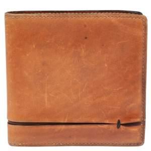 Berluti Brown Leather Bifold wallet