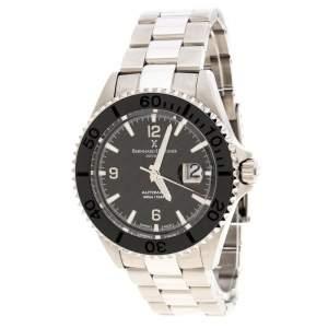 ساعة يد رجالية برنارد أتش. ماير نوتيكوس أوسترو إصدار محدود ستانلس ستيل سوداء 45 مم