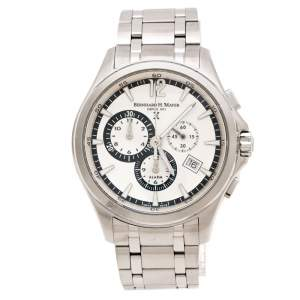 Bernhard H. Mayer Silver White Stainless Steel Virtus Limited Edition Men's Wristwatch 43 mm