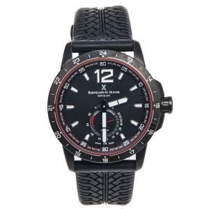 ساعة يد رجالية برنارد إتش.ماير دريفت غلايدر BH11 / CW ستانلس ستيل مطلي پي ڨي دي سوداء 44 مم