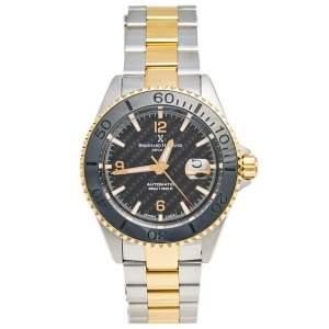 ساعة يد رجالية برنارد إتش ماير نوتيكوس رويال  52701.566.6 II ستانلس ستيل بلونين سوداء 45 مم