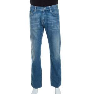 Boss By Hugo Boss Blue Denim Regular Fit Maine Jeans L