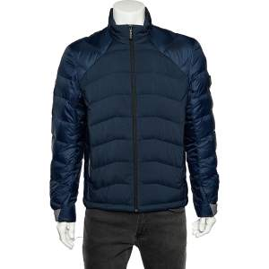 Boss By Hugo Boss Two Tone Synthetic Quilted Jacket L