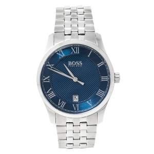 Hugo Boss Blue Stainless Steel Boss 1513602 Men's Wristwatch 41 mm
