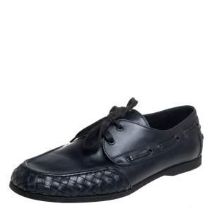 حذاء لوفرز بوتيغا فينيا داريفينغ أربطة جلد وانترشياتو كحلي مقاس 43