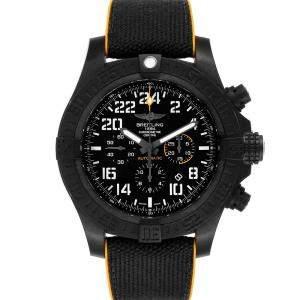 ساعة يد رجالية بريتلينغ أفينغر هوركان ميلاتارى محدود XB1210 برايتلايت سوداء 45 مم