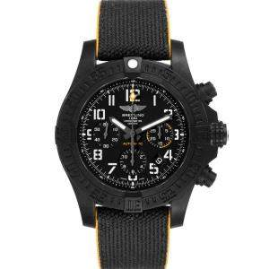 Breitling Black Breitlight Avenger Hurricane Military Limited XB0180 Men's Writwatch 45 MM