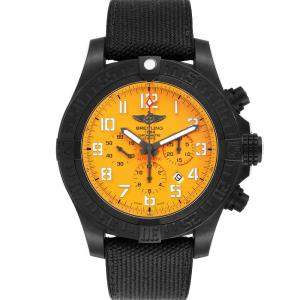 Breitling Yellow Breitlight Avenger Hurricane XB0170 Men's Wristwatch 50 MM