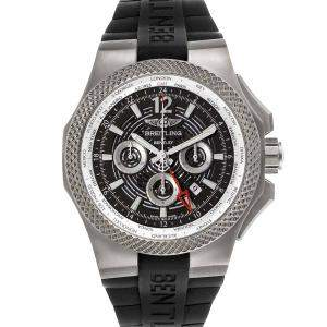 Breitling Grey Titanium Bentley GMT EB0432 Men's Wristwatch 45 MM