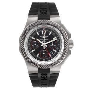 Breitling Black Titanium Bentley GMT B04 EB0433 Men's Wristwatch 45 MM