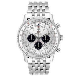 Breitling Silver Stainless Steel Navitimer A41322 Men's Wristwatch 43 MM