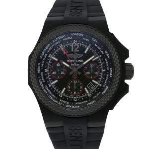 ساعة يد رجالية بريتلينغ بنتيلي جي إم تيNB0434E5/BE94 B04 كاربون سوداء إصدار محدود 45 مم