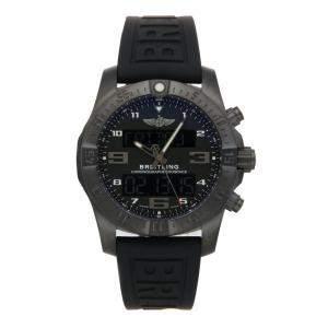 ساعة يد رجالية بريتلينغ إكسوسبيس B55 VB5510H1/BE45 تيتانيوم سوداء 46 مم