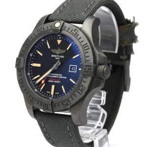 Breitling Black Titanium Avenger Black Bird Automatic V17310 Men's Wristwatch 48 MM