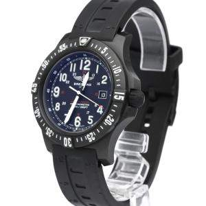 Breitling Black Ultralight Polymer Colt Skyracer Quartz X74320 Men's Wristwatch 45 MM