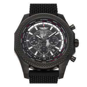 Breitling Black Blacksteel Bentley B05 Unitime Chronograph Limited Edition MB0521V4/BE46 Men's Wristwatch 49 MM