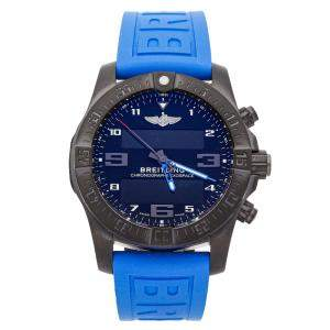 Breitling Black PVD Coated Titanium Exospace B55 Night Mission VB5510H2/BE45 Men's Wristwatch 46 MM
