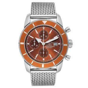 Breitling Bronze Stainless Steel SuperOcean Heritage A13320 Men's Wristwatch 46 MM