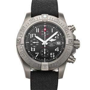 Breitling Black Titanium Avenger Bandit Chronograph E1338310/M536 Men's Wristwatch 45 MM