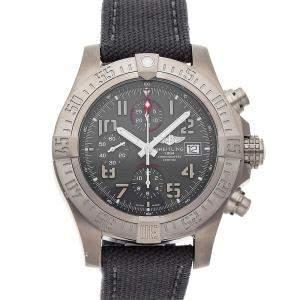 Breitling Gray Titanium Avenger Bandit E1338310/M534 Men's Wristwatch 45 MM