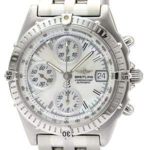 Breitling MOP Stainless Steel Chronomat Automatic A13350 Men's Wristwatch 40 MM